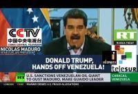 Maduro en falso directo con preguntas grabadas. Rueda de prensa virtual.