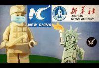 """Propaganda China con Legos: """"Habia una vez un Virus"""""""