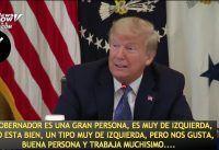 Trump con la prensa: Brasil, Suecia, Tests para COVID-19....