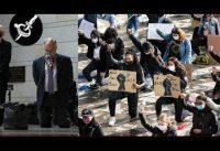 La ley de la muchedumbre contra los disidentes. #BLM #DefundthePolice #Takeaknee