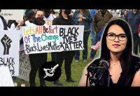 """Manifestantes pro-BlackLivesMatter *vs* números y datos estadisticos: """"dato mata relato"""".-"""
