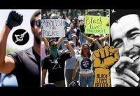 La izquierda progresista abraza el COLECTIVISMO RACIAL de Black Lives Matter: Rodilla al Suelo!