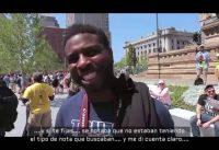Periodista Progresista Muda ante VOTANTE de TRUMP NEGRO
