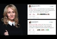 PROGREMILLONARIOS! J.K. Rowling (por Paul J Watson).-