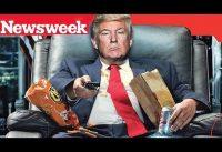 TRUMP esta ABURRIDO de ser PRESIDENTE, es HOLGAZAN; nos dice Newsweek.-