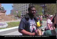 Votante de Trump Negro Deja Sin Palabras a una Periodista.