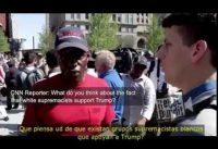 Votante de Trump negro destruyendo el relato de la izquierda