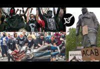 La horda ataca primero las estatuas, y después? | Infantilismo Revolucionario Adanista.-