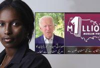 Ayaan Hirsi con Tucker: Campaña 1 Millón de Votos Musulmanes para Biden.-