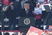 """Trump: """"Que lindo es poder hablar sin teleprompter... Biden no tiene esa opción"""""""