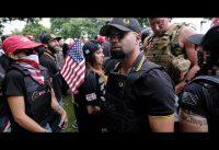 Periodista de CNN *vs* Hispano Militante de Derecha