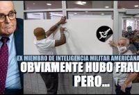 """Ex-Militar de Inteligencia: """"Claro que hubo fraude electoral, es obvio, PERO..."""""""