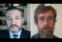 Libertad de opinión, de expresión y de prensa: Ted Cruz confronta al CEO de Twitter Jack Dorsey.-