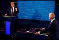 """Trump a Biden: """"Si yo estoy acá, es por culpa de ustedes"""""""