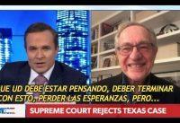 Alan Dershowitz: Trump NO esta EROSIONANDO LA DEMOCRACIA con estas demandas, sin TODO LO CONTRARIO!
