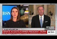 Impresionante entrevista al abogado de Trump tras el fracaso de otro impeachment...