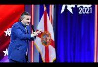 Ted Cruz a lo Milei en el CPAC 2021. Subtitulado en Español.-