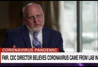 """Ex-Director CDC admin. Trump: """"Mi opinión es que este virus salió de un laboratorio en Wuhan"""".-"""