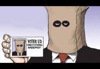 Pedir identificación al votante y verficarlo: es Rac1sta.