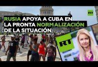 Asi vierte RUSIATODAY su polonio sobre la rebelión ciudadana en CUBA. Ahi les vá. #PatriaYVida