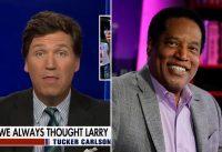 Larry Elder, el candidato pro-Trump y anti-BLM en California es: Supremacista Blanco segun progres.