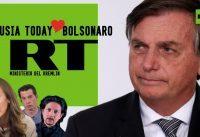 Rusia Today le envia amor a Bolsonaro