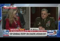Tenso cruce entre senadora republicana y Gral por Afganistán y politización de la fuerza militar.-